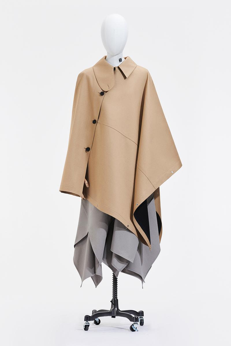 "LOEWE Spring/Summer 2021 Collection Jonathan Anderson Menswear ""Show In a Box"" Loafers Mules Outerwear Bags Capes Draping Runway Paris Fashion Week"