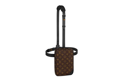 Louis Vuitton's Classic Monogram Gets Emboldened Over Utility Side Bag