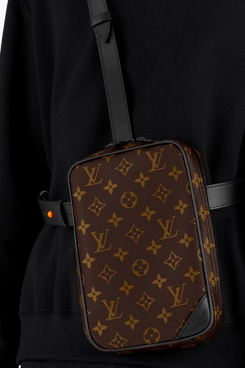 Louis Vuitton Utility Side Bag Spring summer 2020 collection menswear streetwear virgil abloh hypebeast lv bags accessories