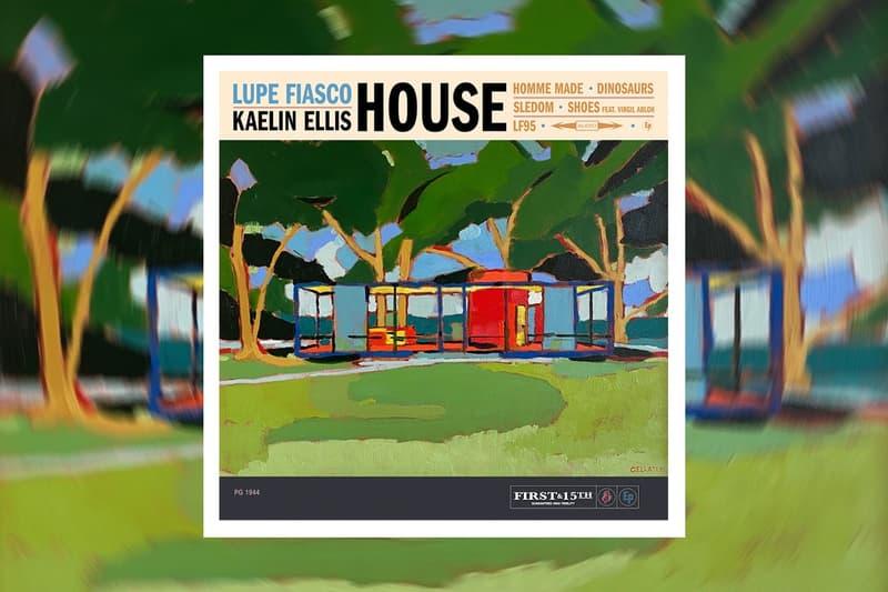 lupe fiasco kaelin ellis house ep collaboration music release