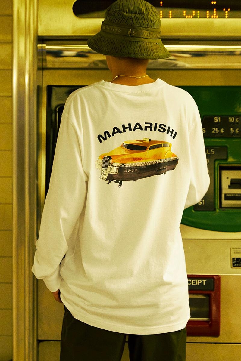 maharishi NYC MILTYPE Spring Summer 2020 Capsule menswear streetwear ss20 collection t shirts hoodies graphics the fifth element new york city manhattan