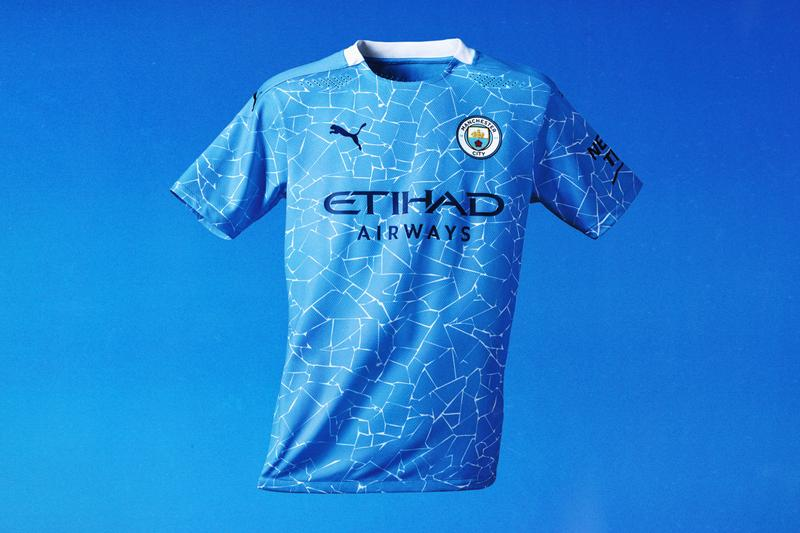 puma manchester city release home kit next season 2020 2021 sterling aguero de bruyne football soccer kits