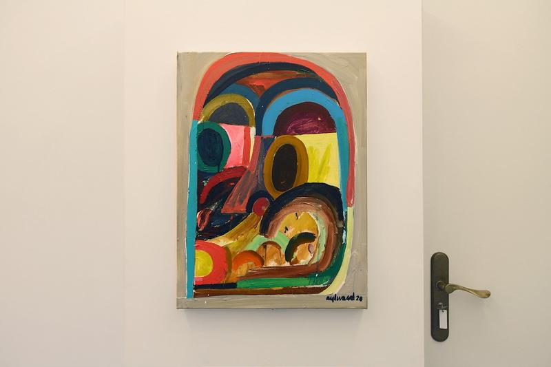 marian cramer projects dont give a damns group exhibition sasha bogojev artworks paintings sculptures