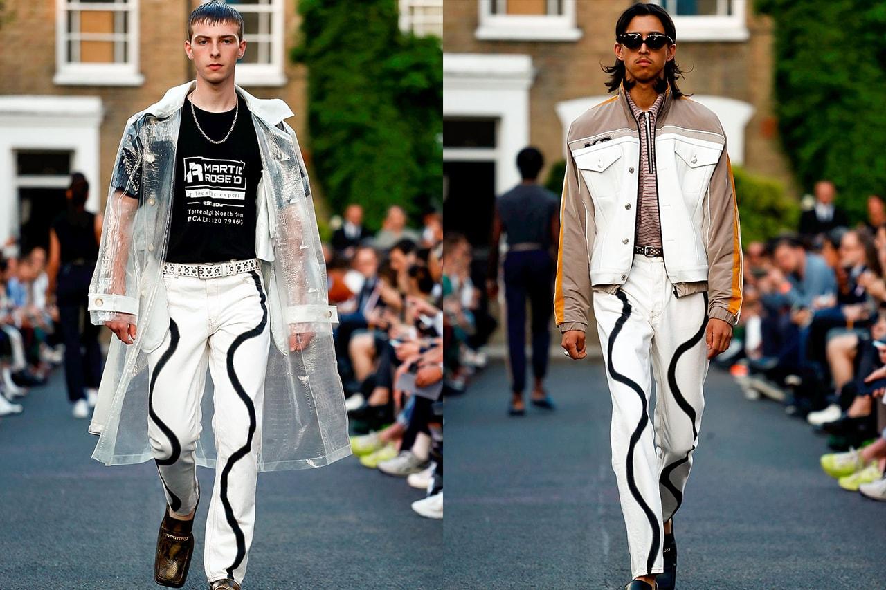 Martine Rose london fashion week nike napapijri farah balenciaga british fashion council awards details interview
