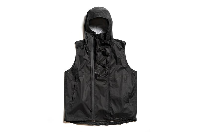 MEANSWHILE Introduces Air Circulation System Rain Jacket tech technology outerwear clothing fans cooling jacket kuchofuku