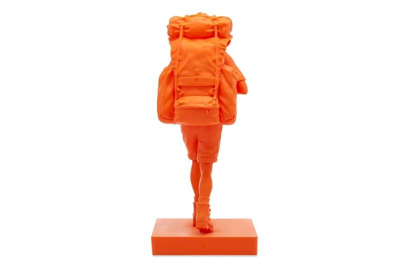 Medicom Toy Revives Mountain Research's 'Mountain Man' Figure in Vivid Orange Kobayashi Setsumasa