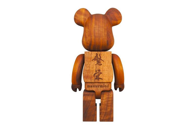 mastermind Japan Karimoku Medicom Toy 400-Percent Bearbrick Release collectibles Toys Japan wood carving design art toys