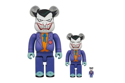 """Medicom Toy Channels '90s-Era """"The Joker"""" for New BE@RBRICK"""