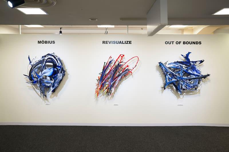 meguru yamaguchi higher self exhibition seibu shibuya artworks sculptures paintings murals photography