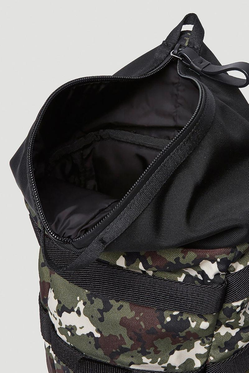 Moncler Argens Backpack Green Camo menswear streetwear ss20 spring summer 2020 collection bags accessories hypebeast