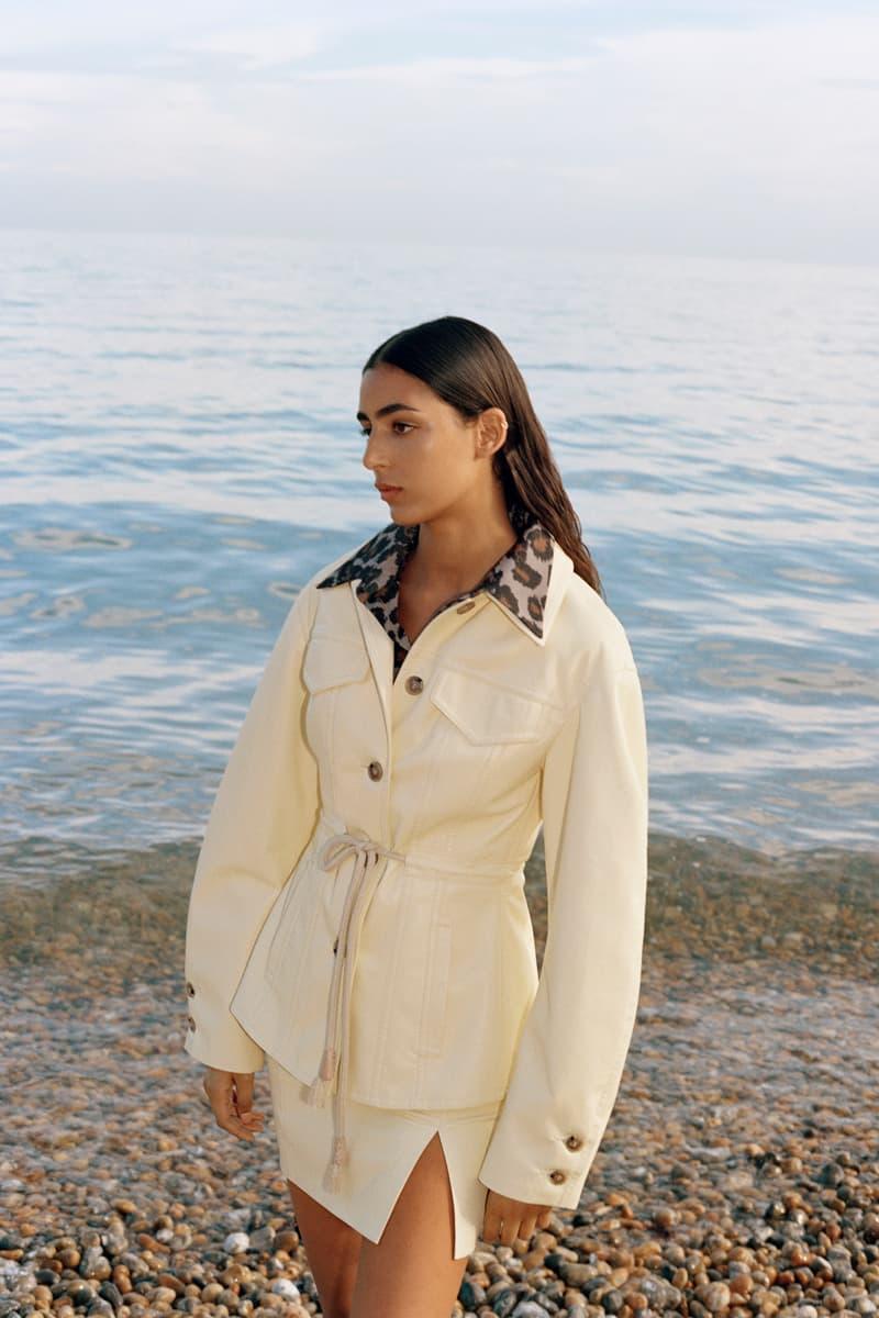 Nanushka Resort 2021 Collection Lookbook Human/Nature environment sustainability Sandra Sandor shirts trousers dresses