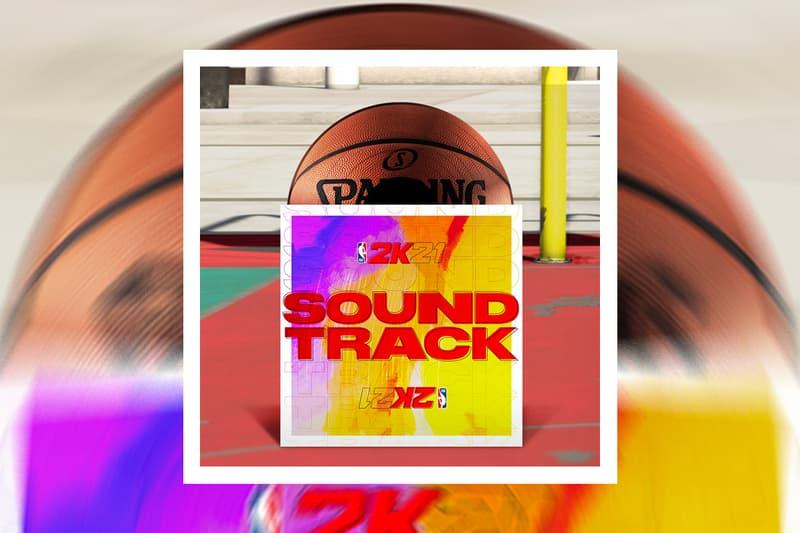 NBA 2K21 Official Soundtrack Album Stream the weeknd jack harlow juice wrld roddy ricch lil baby stormzy asap ferg lil simz pop smoke