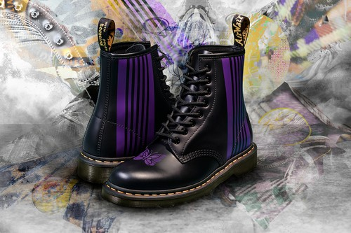 NEEDLES Brings Signature Motifs to Dr. Martens 1460 Boot
