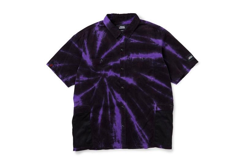 NEIGHBORHOOD Gramicci 2020 Capsule menswear streetwear spring summer 2020 collection lineup tie dye shirts button ups shorts short sleeve t shirt shorts socks hats