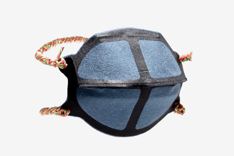 New Balance Non Surgical Face Masks shoelace inspired strap nylon tricot  polyurethane polyester ycmc oneness