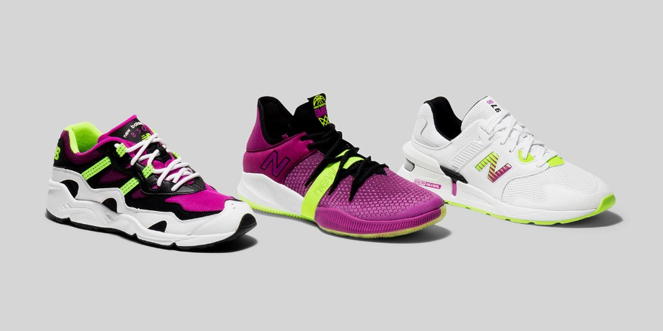 """New Balance Debuts OMN1S Low in """"Berry Lime"""" Pack Alongside the 997S and 850"""