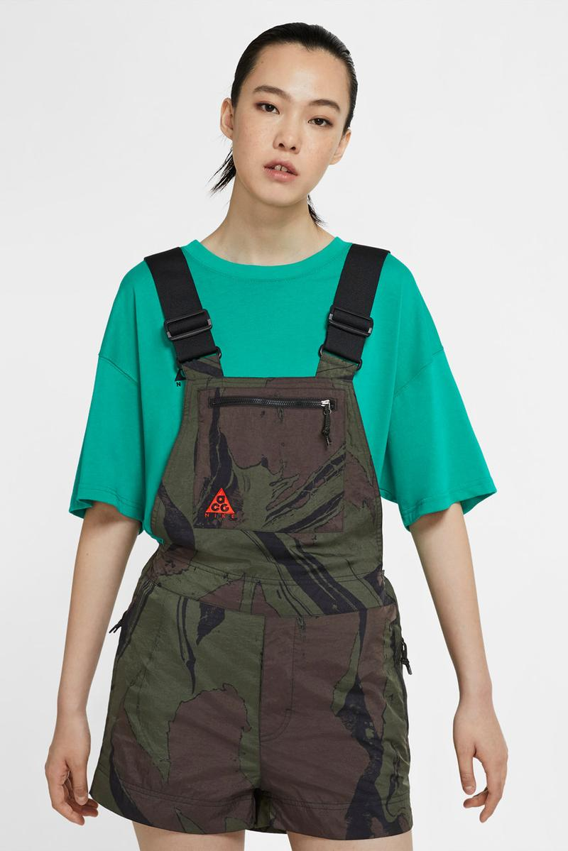 nike acg fall 2020 mt fuji apparel collection nasu hiking shoe air deschutz sandal moc 3 0 poncho shorts overalls camo official release date info photos price store list buying guide