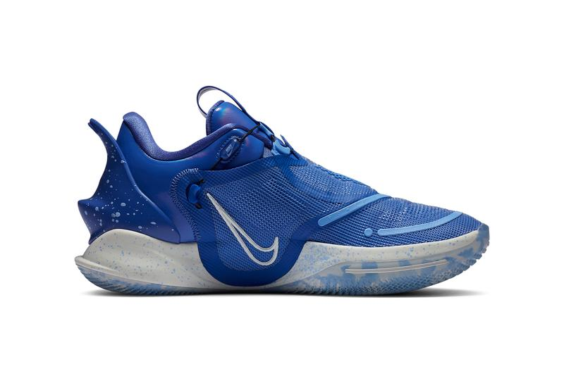 nike basketball adapt bb 2 0 astronomy blue spruce aura royal pulse BQ5397 400 official release date info photos price store list buying guide