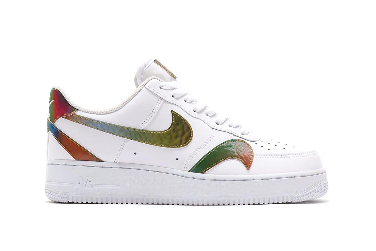 Nike Air Force 1 Multi-Swoosh Release