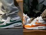 "Nike Air Max 1 Is Back in ""Hunter Green"" and ""Anniversary Orange"""