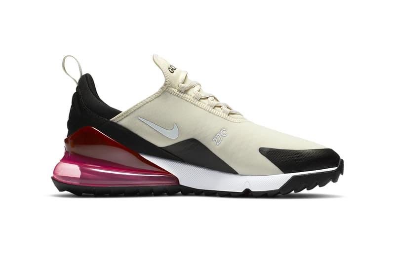 Nike Air Max 270 G Light Bone Black Hot Punch White Release CK6483-002