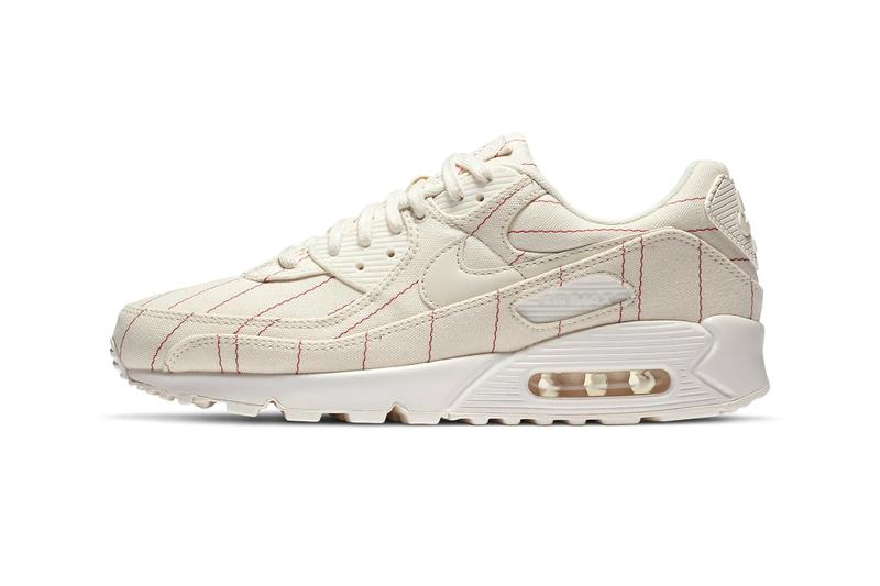 Nike Air Max 90 Natural Chili Red menswear streetwear spring summer 2020 collection sneaker shoes trainers runners kicks ss20 CZ5593 100