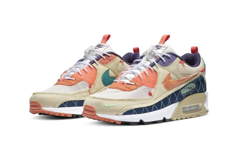 Nike air max 90 trail outdoors release information acg buy cop purchase china dream green bright crimson gravity purple team gold coastal blue camellia