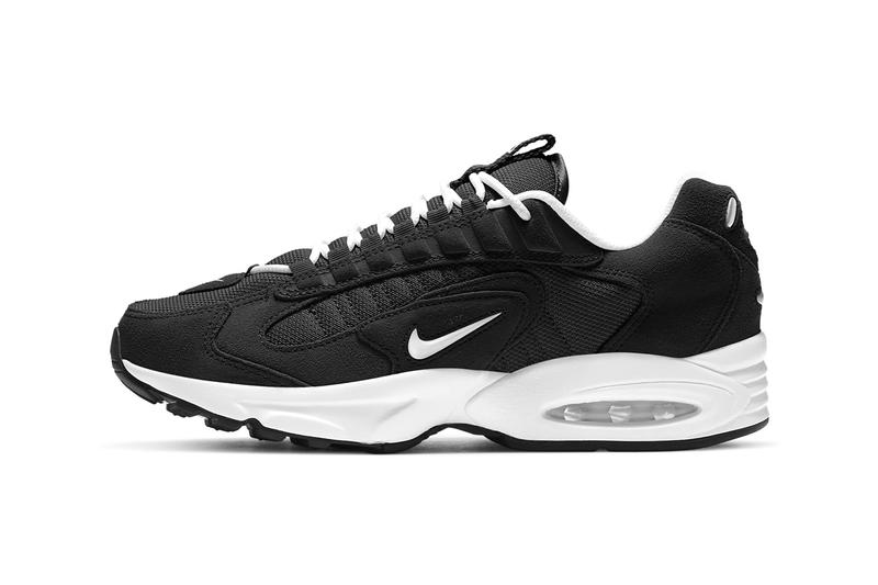 Nike Air Max Triax LE Cobblestone Black Pack sneakers shoes white metallic silver limited edition luxury suede nubuck CT0171 002 001
