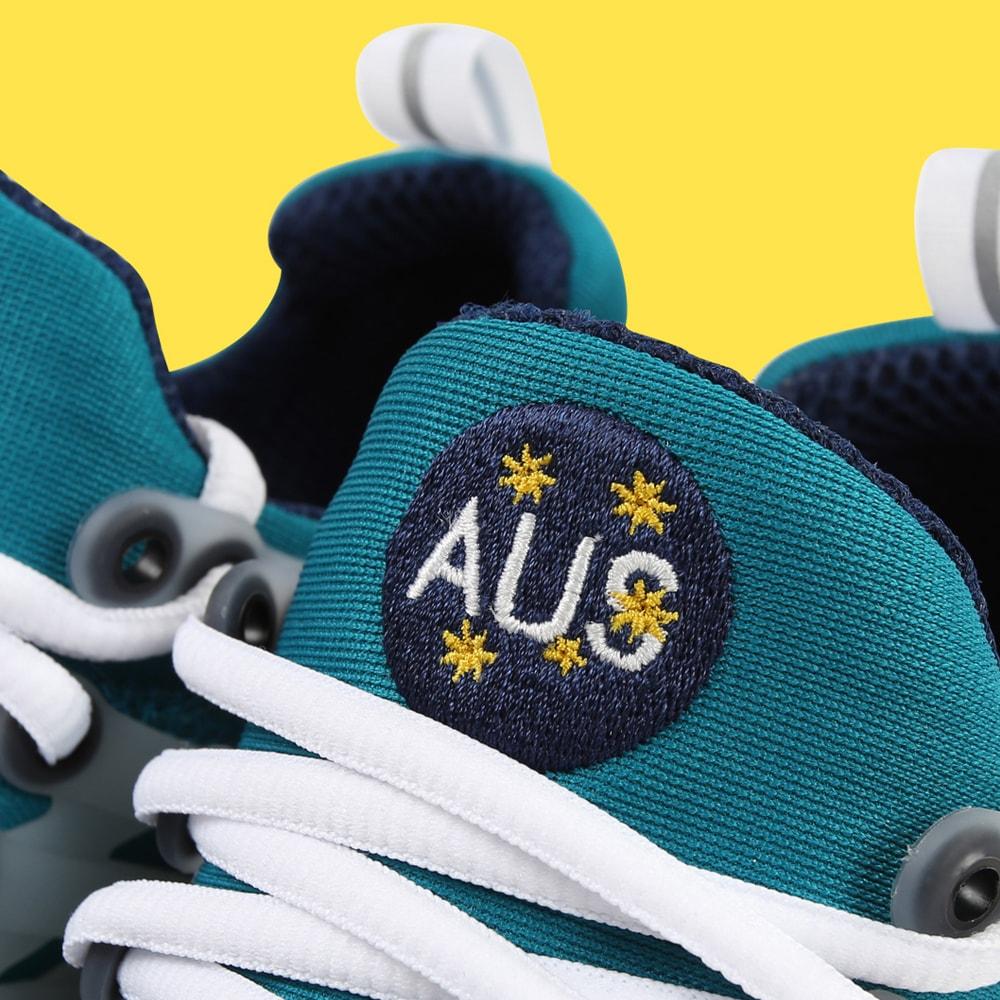 Nike Air Presto「AUS」鞋款致賀 20 周年迎來公開發售