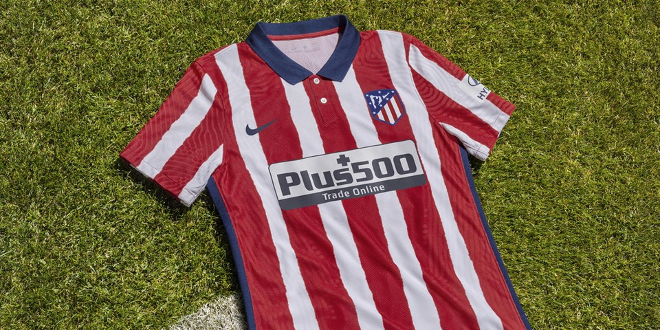Nike Salutes Atlético de Madrid's Indefatigable Spirit With 2020/21 Home Jersey