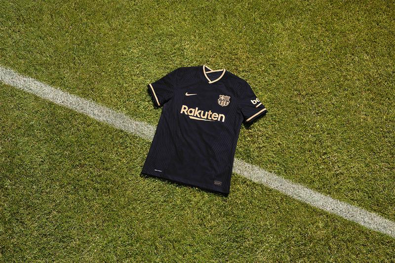 fc barcelona 2020 21 away kit by nike hypebeast fc barcelona 2020 21 away kit by nike
