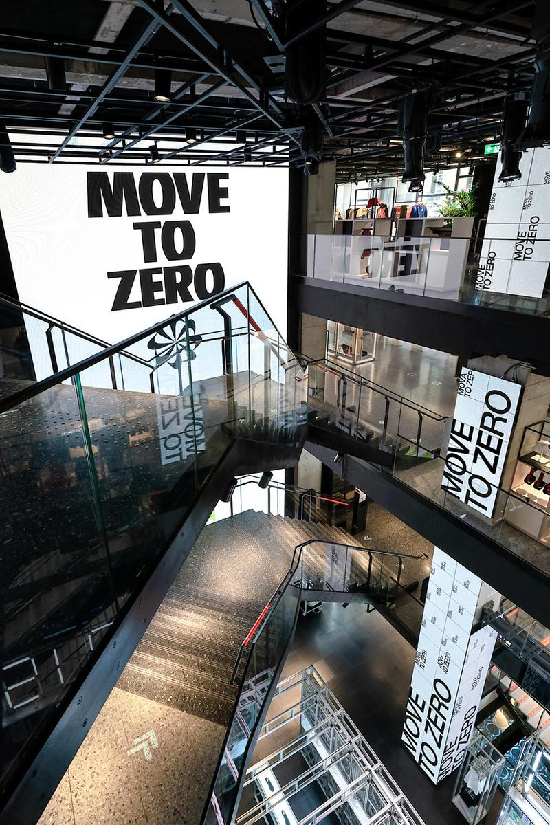 Nike Paris House of Innovation store location details 79 champs elysees opening information flagship
