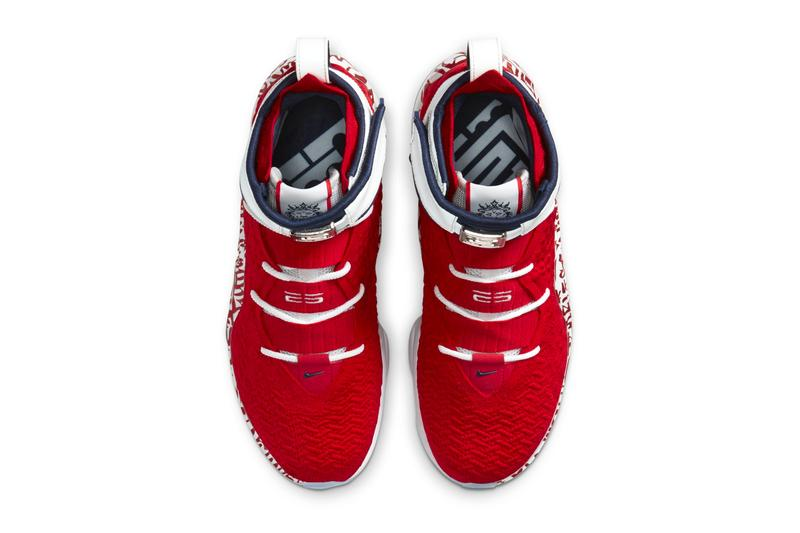 Nike LeBron 17 Fire Red Graffiti menswear streetwear spring summer 2020 collection footwear shoes sneakers trainers runners kicks