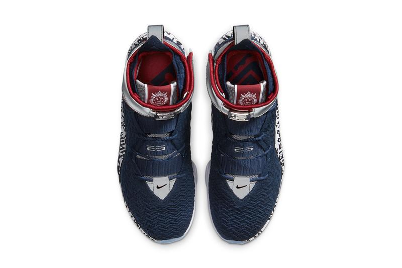 nike basketball lebron james 17 graffiti remix all star 2007 red crimson blue navy white silver ct6047 400 official release date info photos price store list buying guide