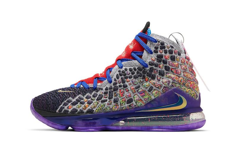 nike basketball lebron james 17 what the CV8079  900 multi color official release date info photos price store list buying guide