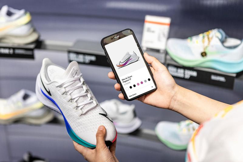 Nike Rise Digitalized Personal Shopping Experience concept store Guangzhou sports community direct to consumer sales activations workshops