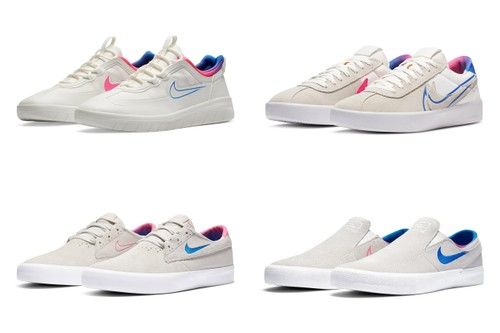 Nike SB Debuts Colorful Olympic-Themed Footwear Collection