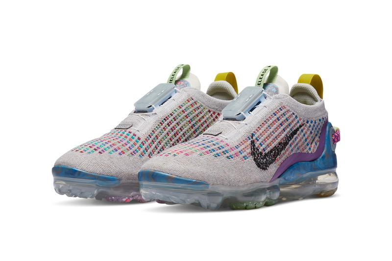 nike running sportswear vapormax 2020 flyease multi color pure platinum multicolor black CJ6740 001 official release date info photos price store list buying guide