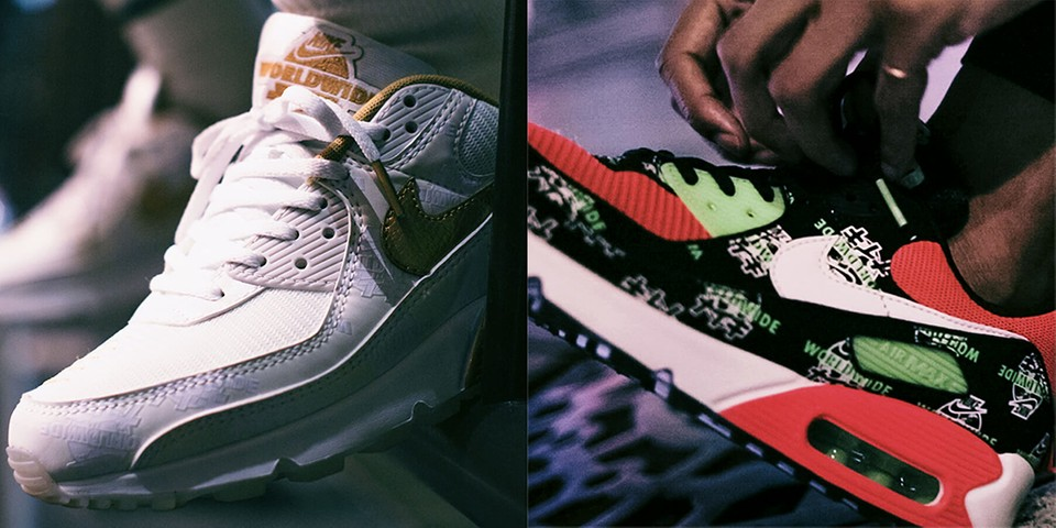 """Nike Stops by Japan for Extensive """"WORLDWIDE KATAKANA"""" Collection"""