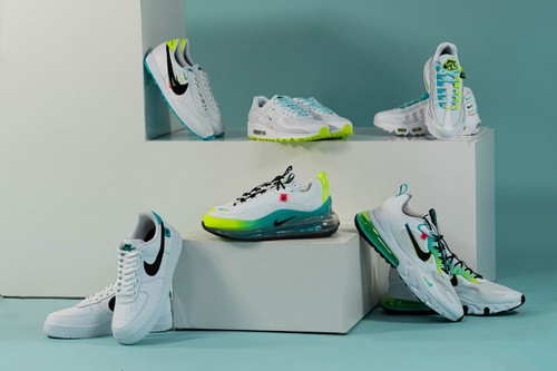 "Mini Swooshes and Bold Colors Dominate Nike's ""Worldwide Pack"" Collection"