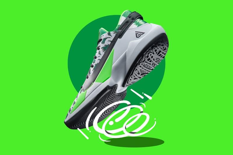 nike basketball zoom freak 2 giannis antetokounmpo green white Naija black white official release date info photos price store list buying guide