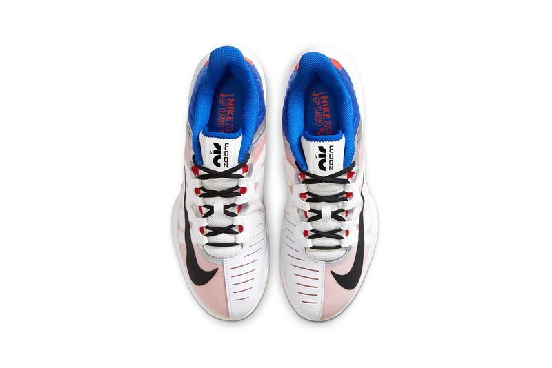 nike air zoom gp turbo tennis sneaker frances tiafoe release information white court purple coral blue buy cop purchase