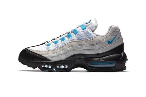 """Nike's Air Max 95 Receives """"Laser Blue"""" Treatment"""
