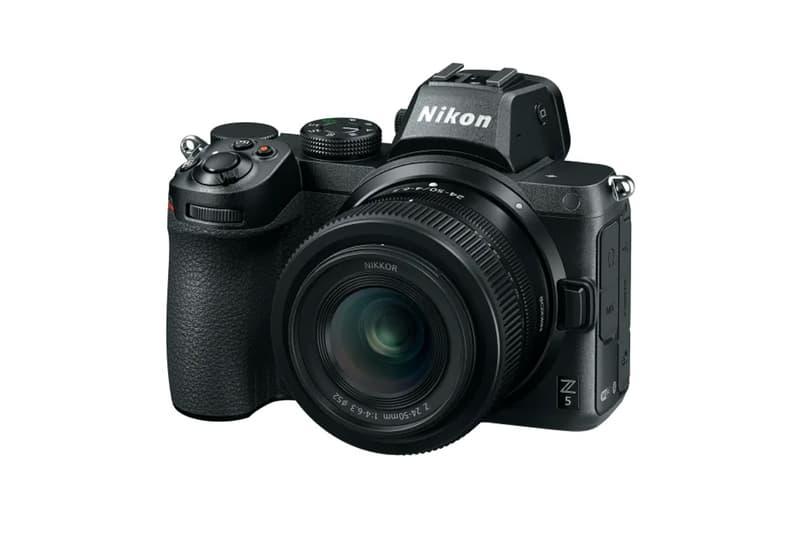 nikon mirrorless cameras cmos sensor 24 3 megapixel entry level z5 4k 30 frames per second video recording