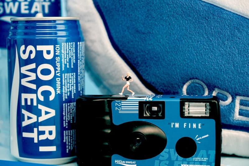 Pocari Sweat NINM Lab 40th Anniversary summer Capsule spring 2020 accessories tote bags camera disposable film badge pin cushion exhibition pop up hong kong