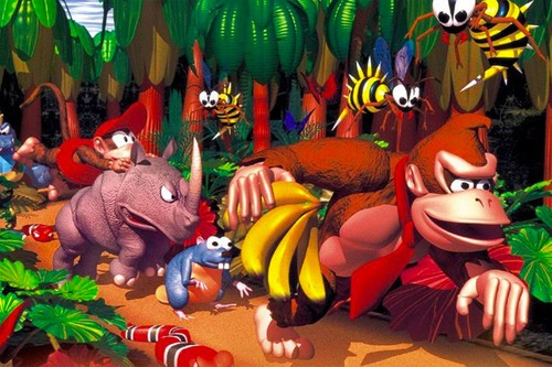 1994 'Donkey Kong Country' Is Coming to Nintendo Switch Online