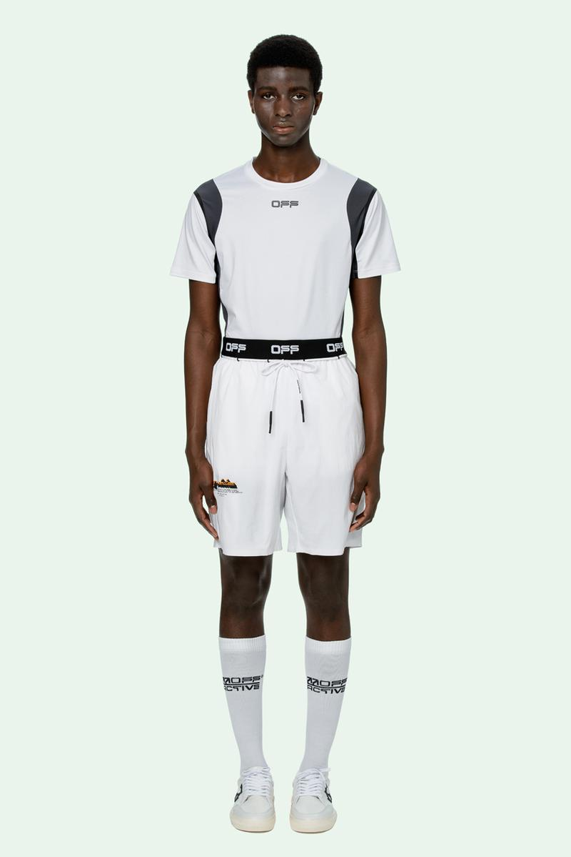 Off-White Virgil Abloh OFF ACTIVE Announcement Info Release Buy Price sports