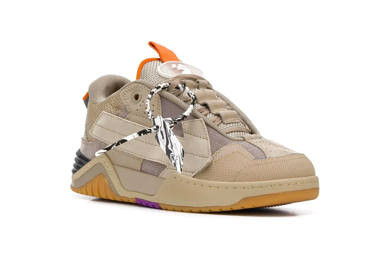 off white shoe tag