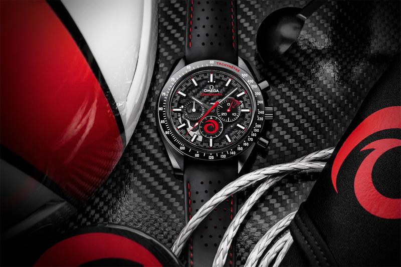 omega swiss luxury watches alinghi sailing team dark side of the moon speedmaster accessories