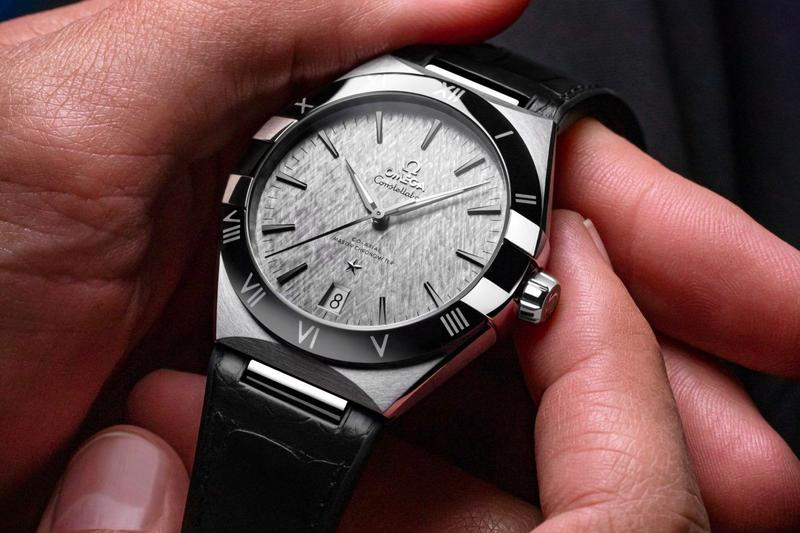 omega swiss luxury watches accessories 41mm constellation 18k stainless steel gents collection